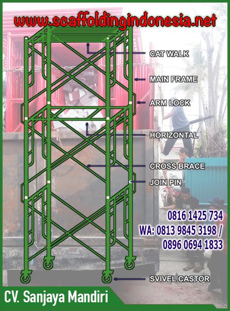 jual scaffolding baru
