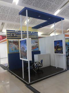 kontraktor booth pameran BOOTH PT. PANCAWIRA
