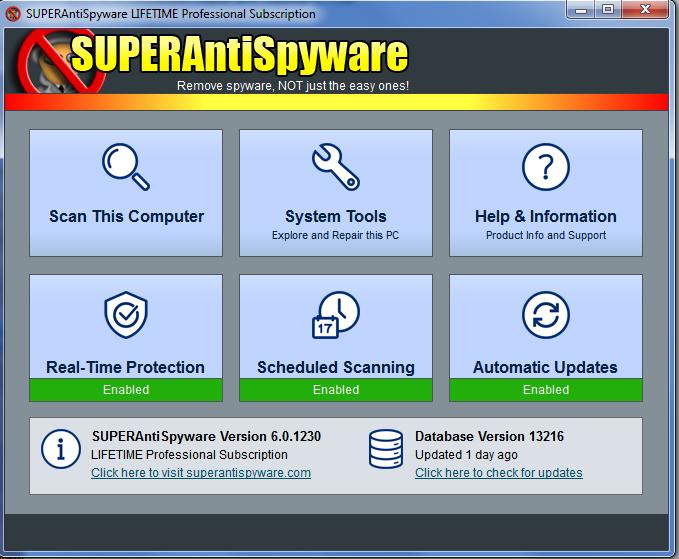 super antispyware activation code