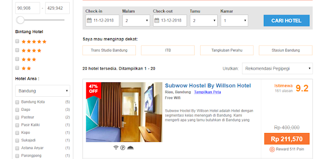 Booking hostel di PegiPegi
