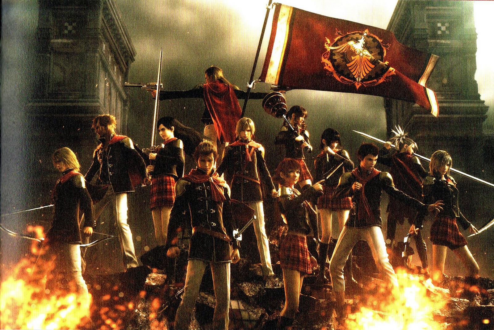 Final Fantasy Type 0 Hd Games 4k Wallpapers Images: Final Fantasy Type-0 HD (PS4) Review