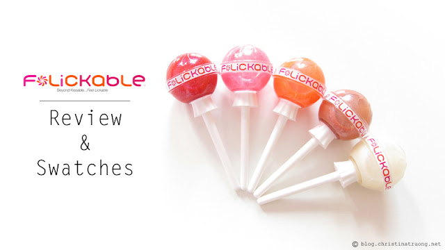 Review and Swatches of Flickable Lip Gloss. Available exclusively at Hudson's Bay.