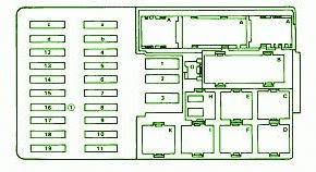mercedes benz s430 fuse box diagram mercedes benz 420sel fuse box diagram october 2012 ~ mercedes fuse box diagram #10