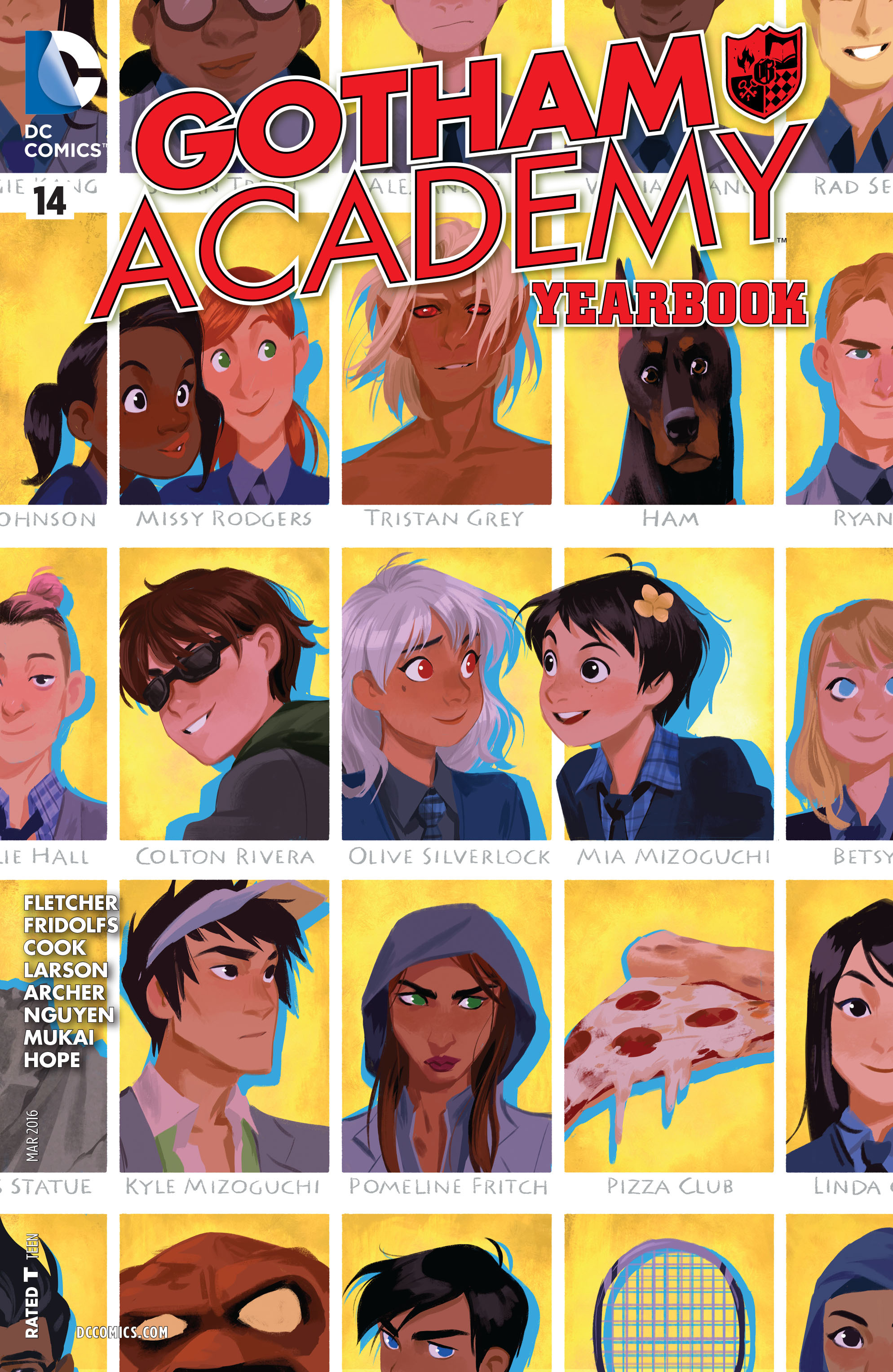 Gotham Academy issue 14 - Page 1