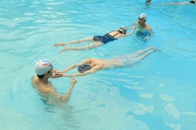 Nổi thân trong bơi sải