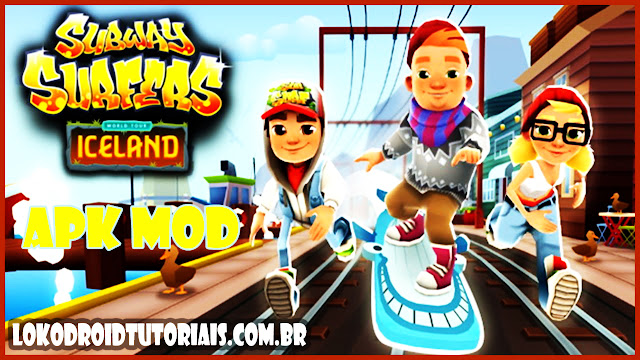 Subway surfers iceland APK MOD