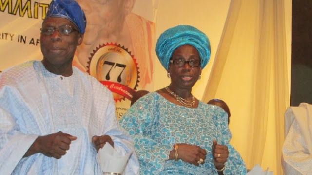 Obasanjo doesn't joke with money, says wife