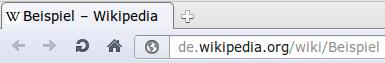 Der Title in einem Browser-Tab