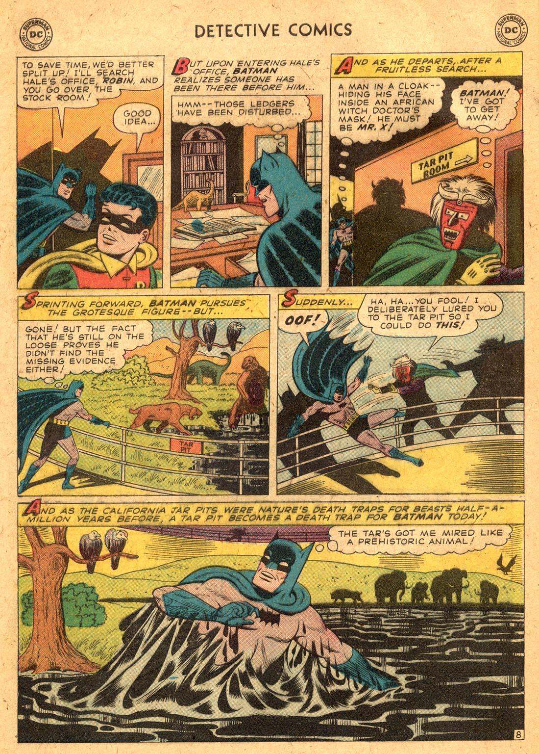Read online Detective Comics (1937) comic -  Issue #255 - 10