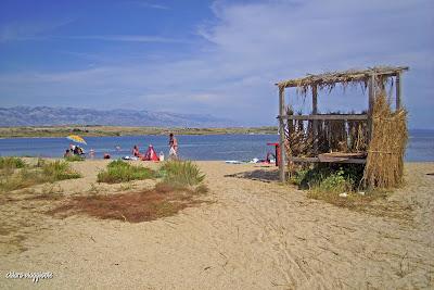 spiaggia Stara Povljana isola di Pag