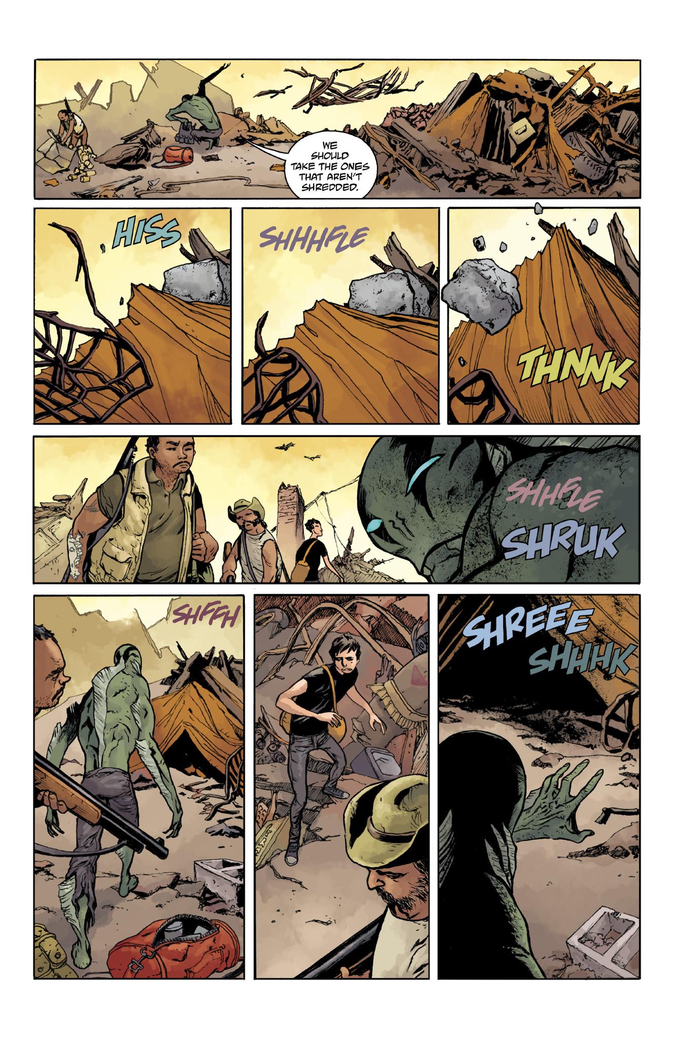 Read online Abe Sapien comic -  Issue #18 - 13