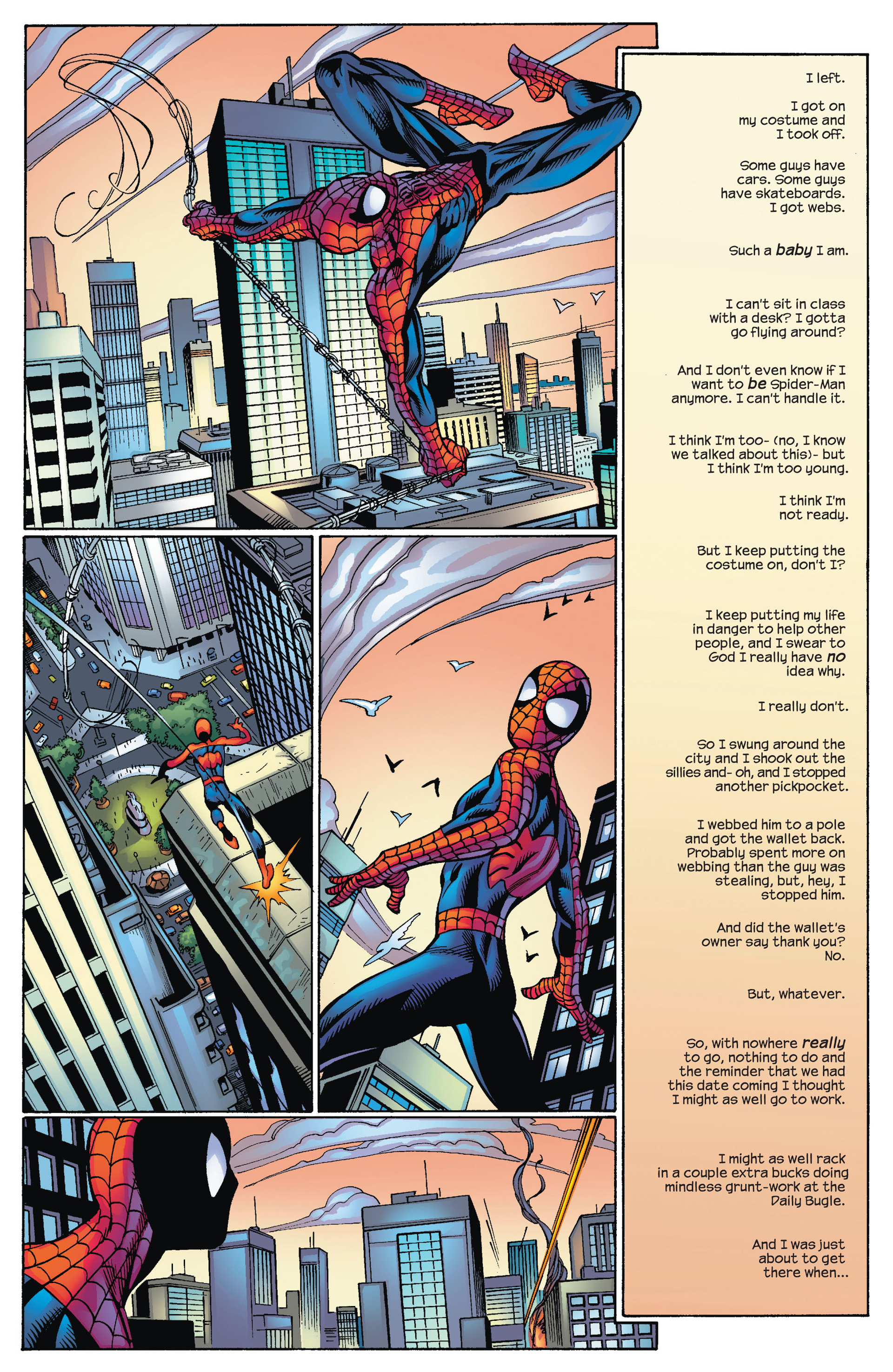 Read online Ultimate Spider-Man (2000) comic -  Issue #70 - 6