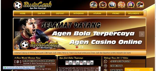 Agen Bola Sbobet Online Bwincash.com