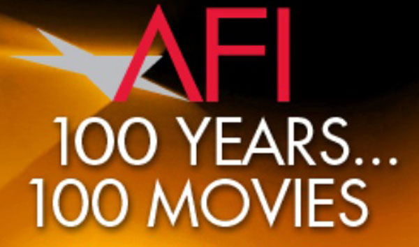 The AFI 100 Logo