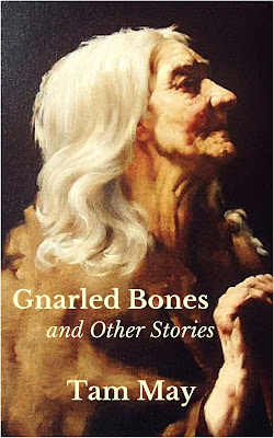 Interview, Tam May, Gnarled Bones and Other Stories, Fiction, Short Stories, Book, Author, Writer, Writing, The Writing Greyhound, Lorna Holland