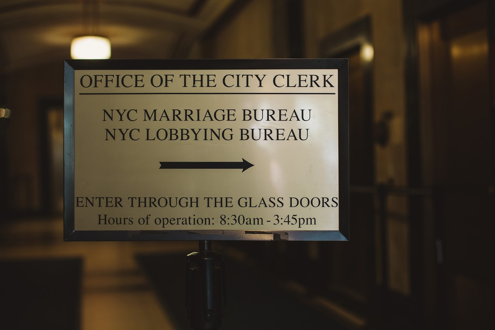 nyc marriage bureau