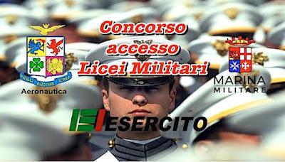Accesso ai licei delle Scuole Militari (adessolavoro.blogspot.com)