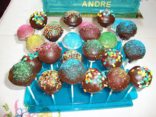 Cakepops mesa dulce cohete