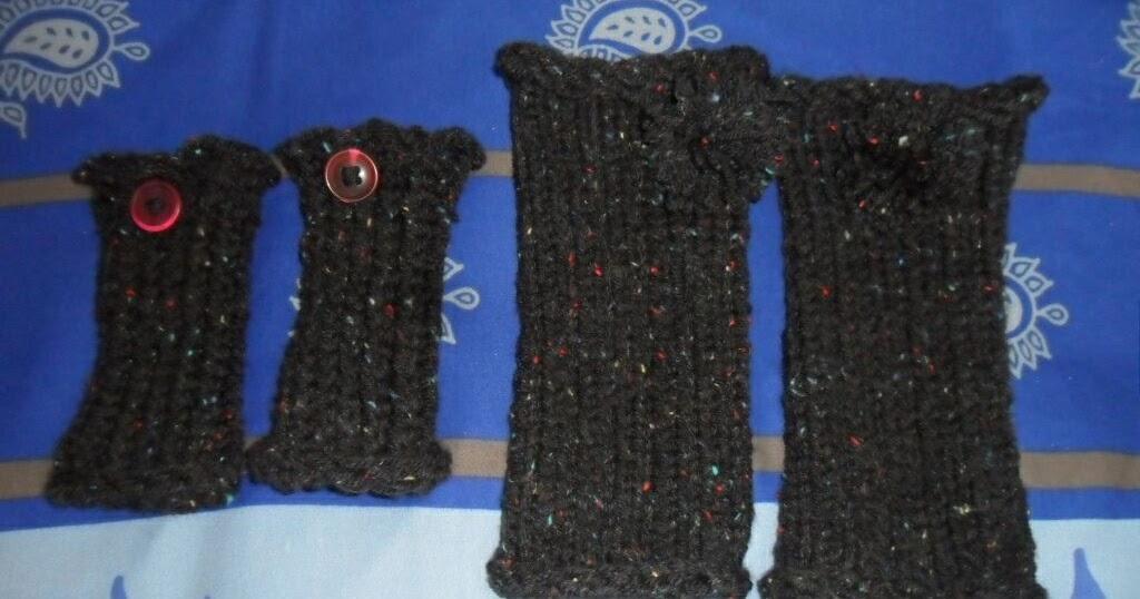 Le tricotin g ant belge comment faire des mitaines avec - Tricotin rond comment terminer ...