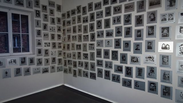 Dead prisoners of Auschwitz