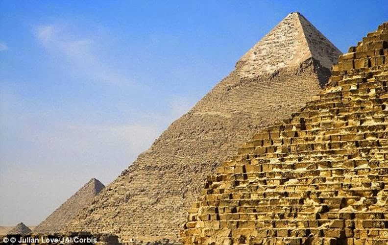 Were The Pyramids Built Inside Out Engineer Claims Ancient