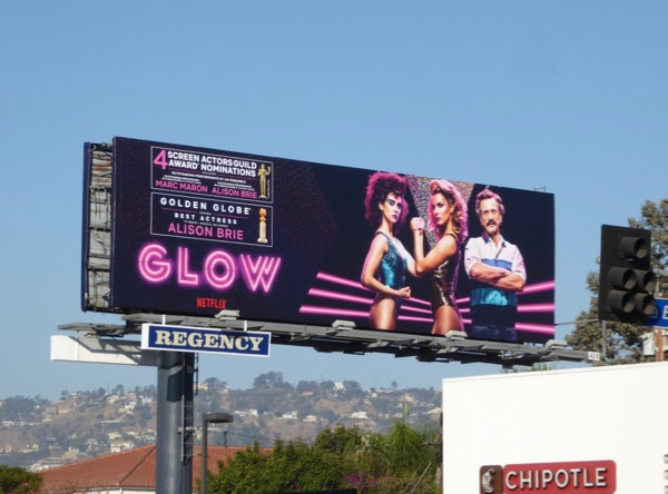 GLOW season 1 SAG Golden Globe nominations billboard