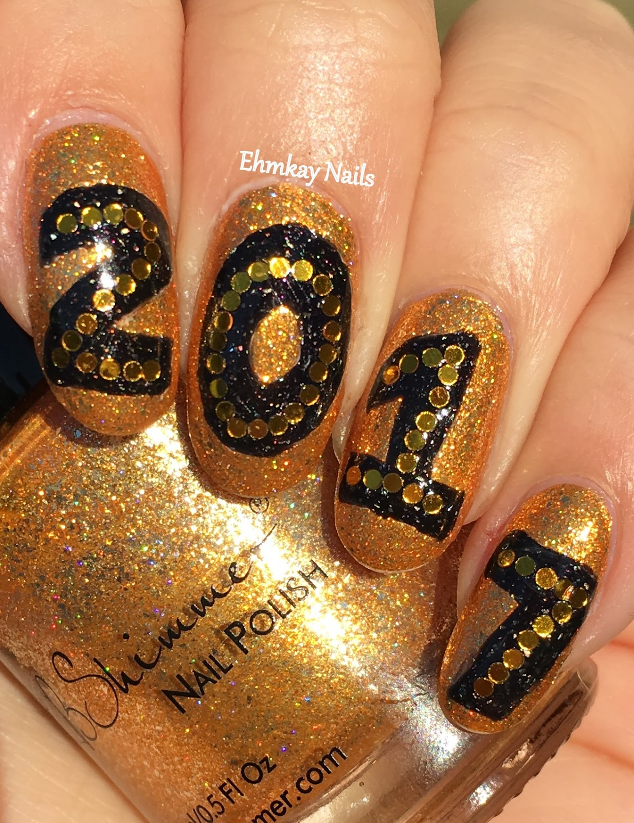 Ehmkay Nails: Welcome To 2017 Nail Art