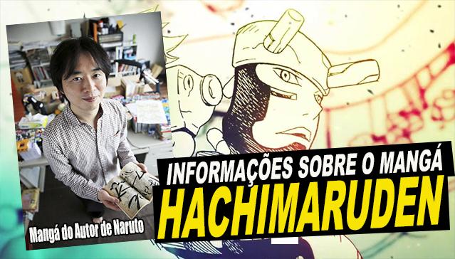 [Novidades] MASASHI KISHIMOTO LANÇA NOVO MANGÁ! Samurai 8: Hachimaruden