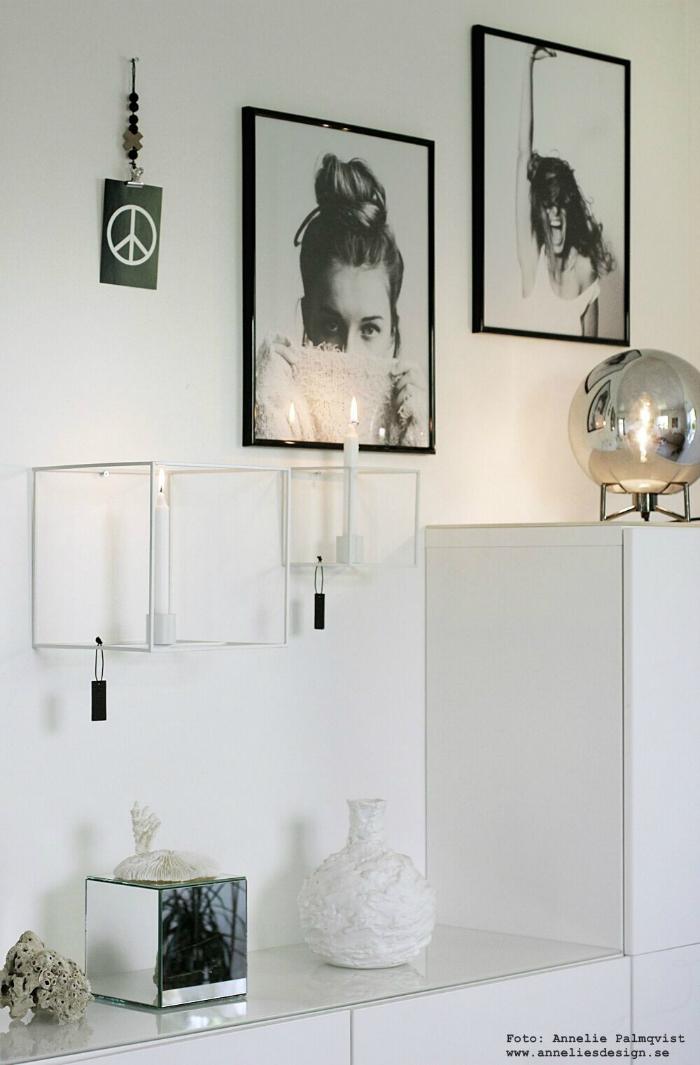 annelies design, webbutik, webshop, nätbutik, inredning, tavla, tavelvgg, tavelväggar, poster, modellbilder, väggljusstake, väggljusstakar, duo, värmeljus, stearinljus, webbutiker, spegelkub, spegelkuber, lampa, hubsch