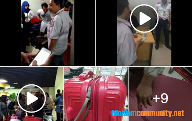 Begini Detik-detik Video Penumpang Lion Air Ngamuk Barang-barang Bagasi Hilang dan Koper Rusak