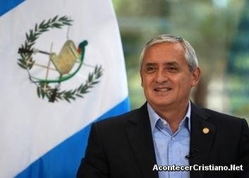 Presidente Otto Pérez Molina