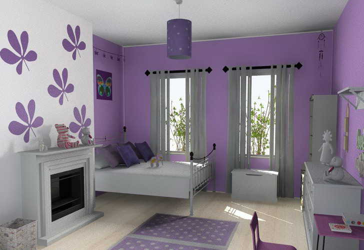 Sassy pearls fashion making your bedroom colorful - Cute colors to paint your room ...