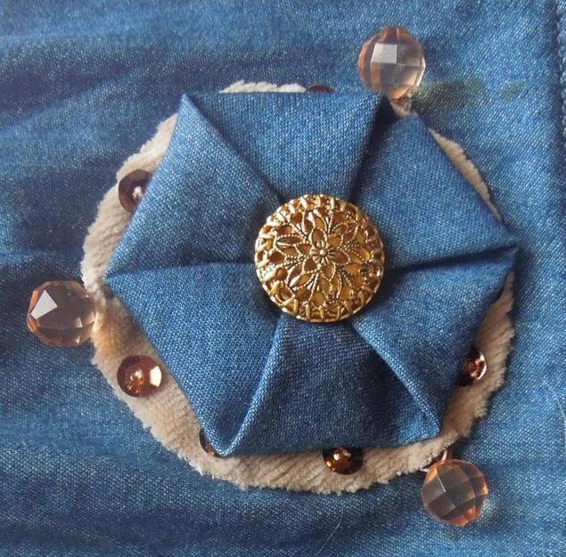 Making a Hexagon Brooch Tutorial without using sewing