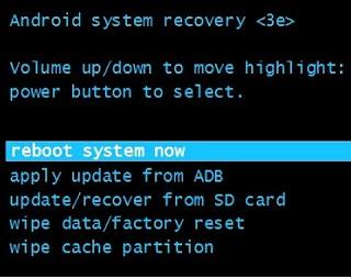 Cara Factory reset dan Hard reset samsung J2  via setting dan recovery mode