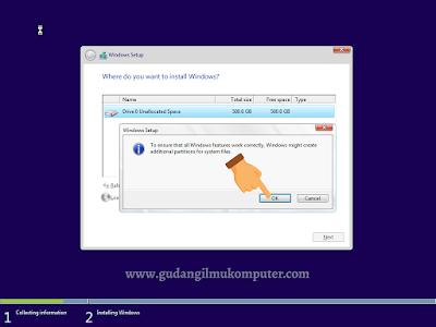 Cara Instal Windows 10 Menggunakan Flashdisk Lengkap Dengan Gambar