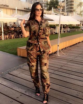 فاطمة صفا بالزي العسكري المموة والجمهور يعلق:انتى اجمل ضابطة فى الجيش اللبنانى