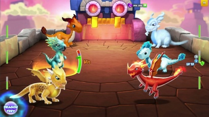 Download Dragon Mania Mod Apk v4.0.0 Update Terbaru (Unlimited Money/Gems/Coins)
