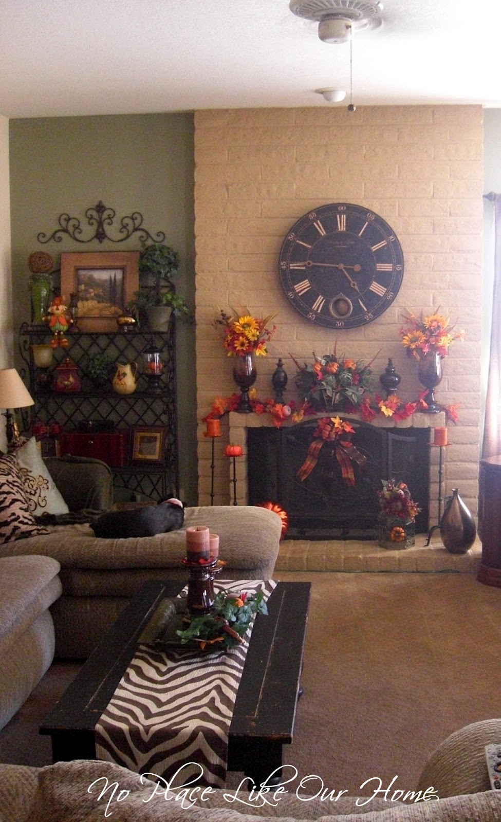 Decor For Living Rooms Using Birds: No Place Like Our Home: Fall Decor