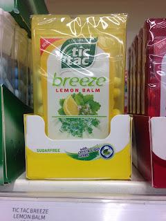 tic tac breeze sugar free lemon balm
