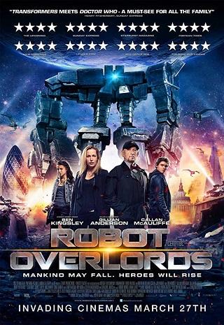 Robot Overlords 2014 Dual Audio Hindi 300MB BluRay 480p