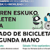 El Mercado de Bicicletas de Segunda Mano de Barakaldo supera las expectativas y venderá este sábado 123 bicis en el Parque de Los Hermanos