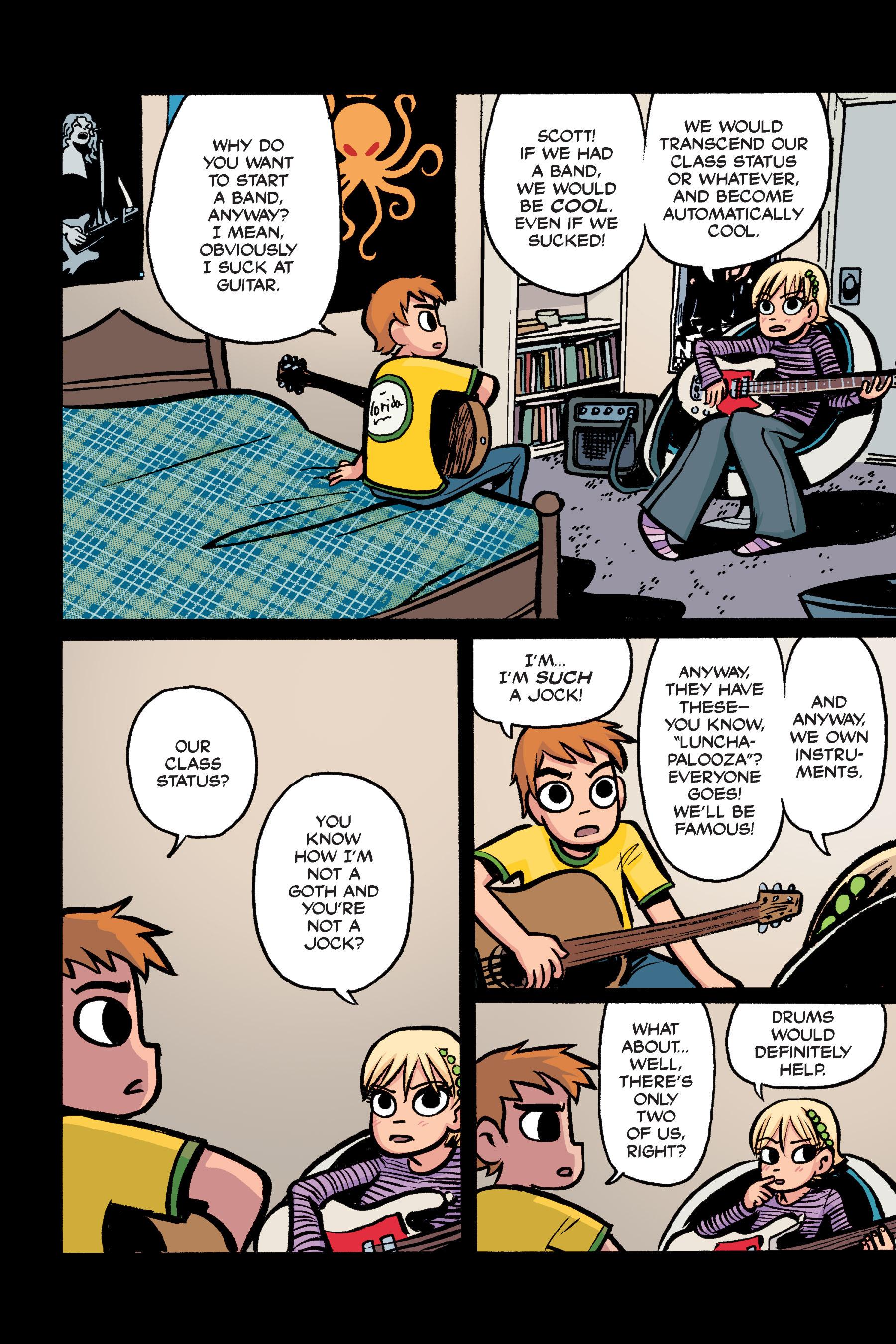 Read online Scott Pilgrim comic -  Issue #2 - 17