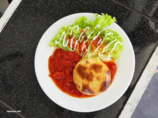 Introducing the PizzBurger (RM12.90)