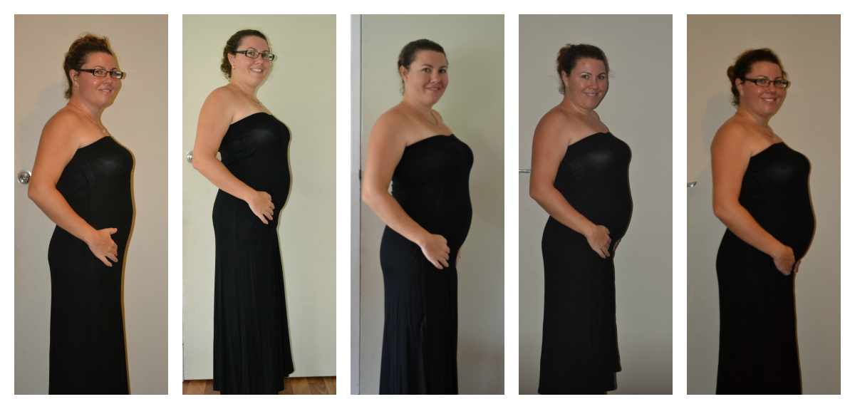 7 Month Pp 5 Weeks Pregnant Belly Looks Like Twin Belly – Desenhos