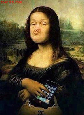 Những hình ảnh hài hước vui nhộn nhất, Mô-na Li-da chế hài hước, Tranh sơn dầu của họa sĩ Lê-ô-na đơ Vanh-xi