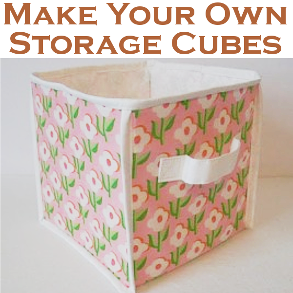 diy home sweet home make your own storage cubes
