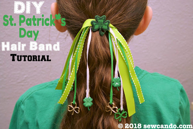 photo SewCanDoSt. Patrick's Day Hair