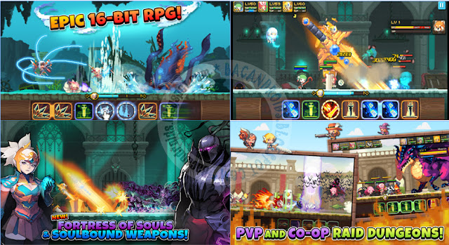 Crusaders Quest Mod v2.9.9.KG Apk Terbaru For Android god Mode
