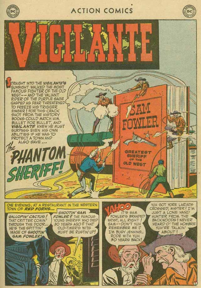 Read online Action Comics (1938) comic -  Issue #169 - 34