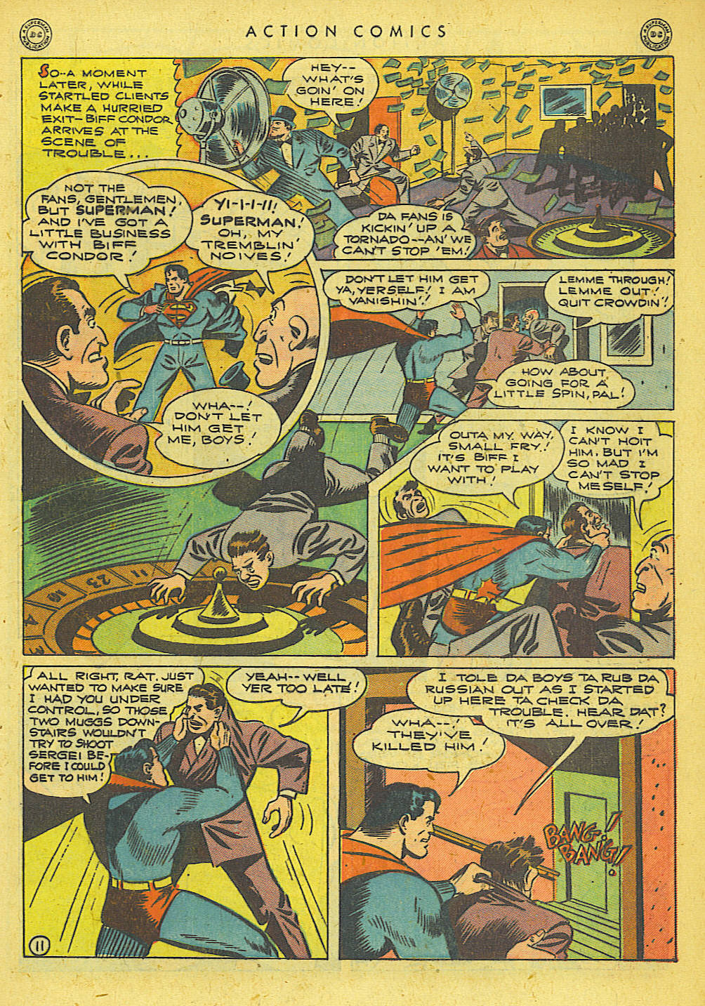 Read online Action Comics (1938) comic -  Issue #78 - 12